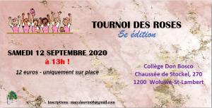5ème Tournoi des Roses, Ban Eik @ Collège Don Bosco | Woluwe-Saint-Lambert | Bruxelles | Belgique